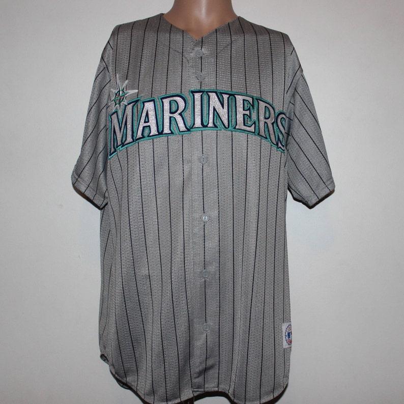 535e0e92 Vintage Seattle Mariners Majestic MLB Jersey L | Etsy
