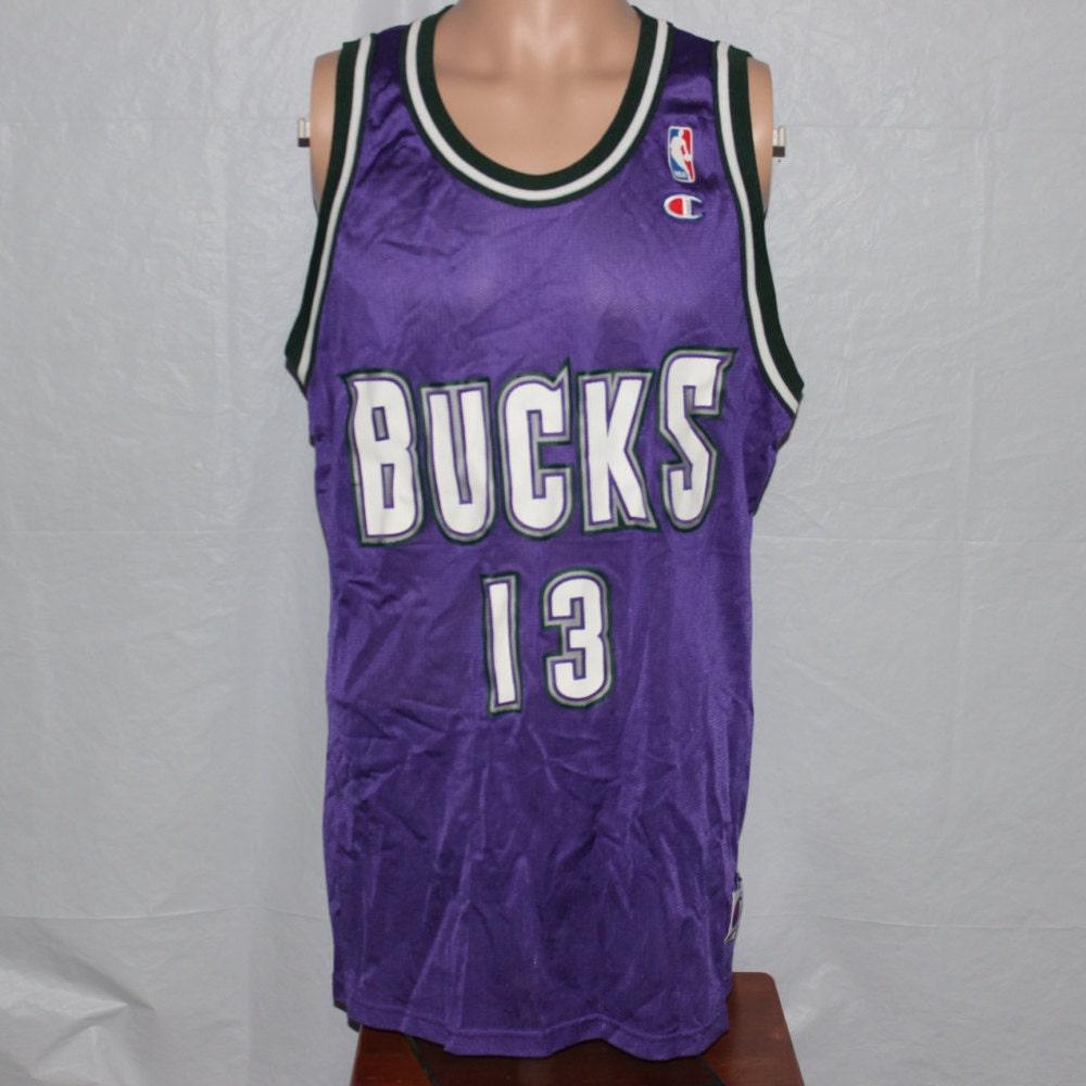 e1f9d703c7e ... vintage milwaukee bucks jersey Vintage Milwaukee Bucks Glenn Robinson  Champion ...