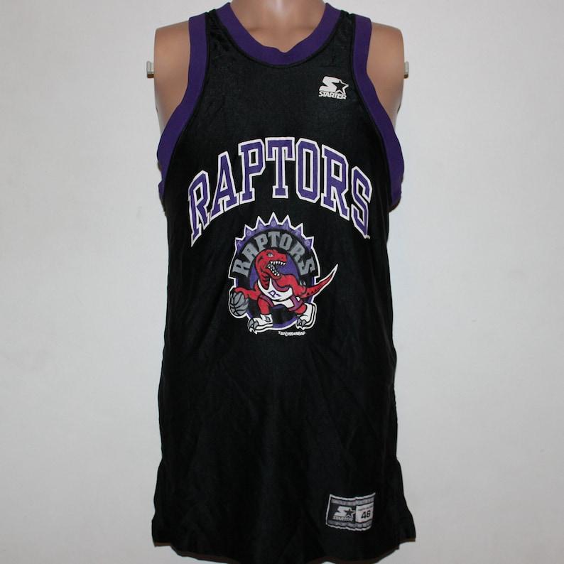 9ed67cbbd3b Vintage Toronto Raptors STARTER NBA Jersey M
