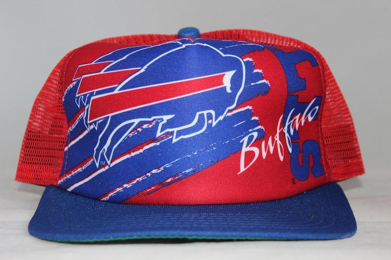 5f008861a Vintage Buffalo Bills New Era NFL Snapback Hat