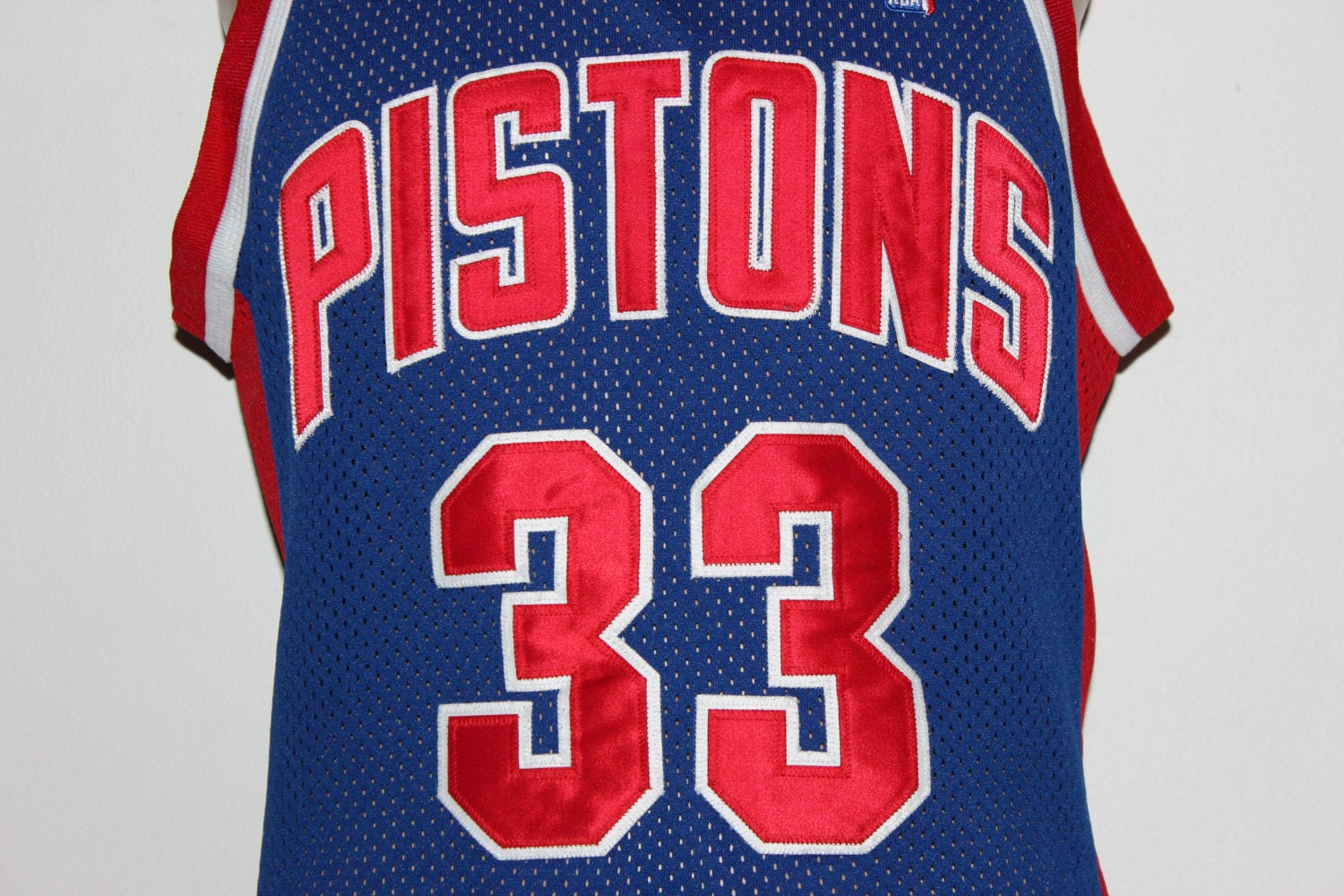 huge discount bb54f 3f1ab Vintage Detroit Pistons Grant Hill Authentic Champion Jersey 40