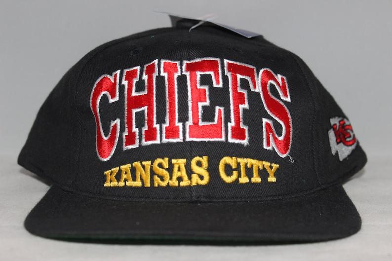 132c139d Vintage Deadstock Kansas City Chiefs NFL Snapback Hat