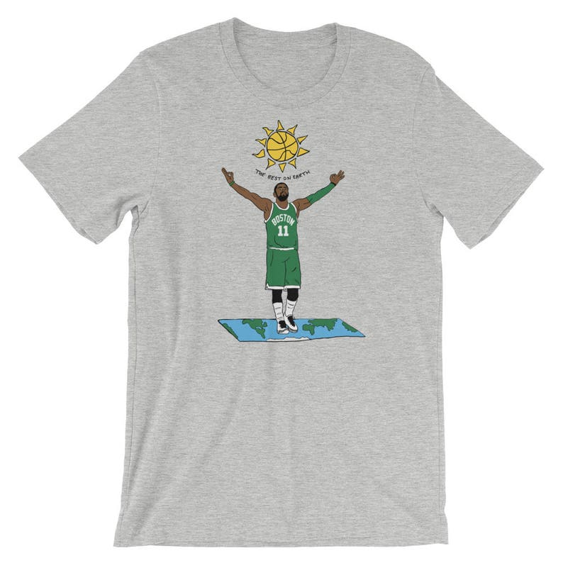 28485bd58 Kyrie Irving Flat Earth Graphic T-Shirt