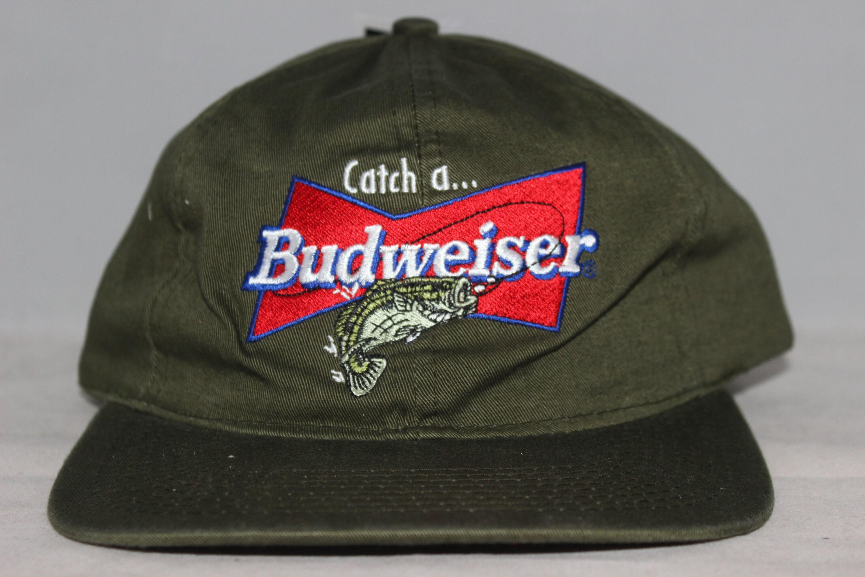 2781b854fa749 Vintage Budweiser Beer Strapback Hat