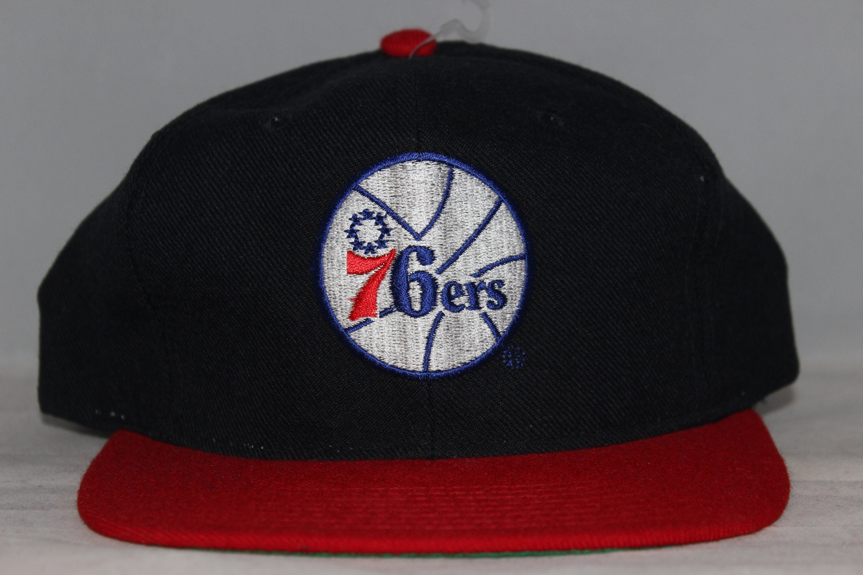 Vintage Philadelphia 76ers STARTER NBA Snapback Hat  e00fc24990f