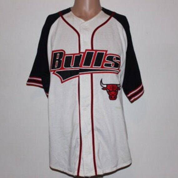 Vintage Chicago Bulls STARTER NBA Jersey L