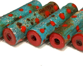 Paper Beads-African Dots