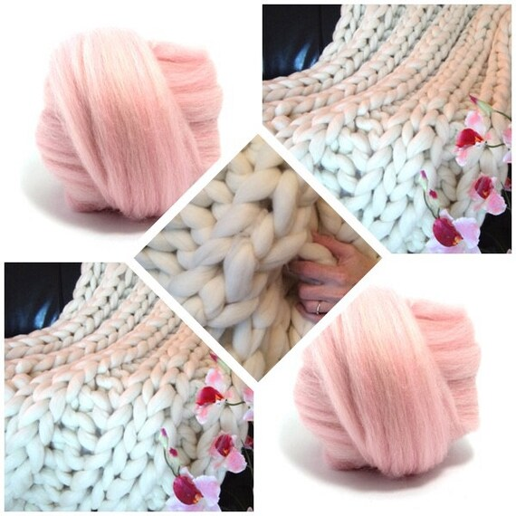 Super Chunky Knit Blanket, Pure Merino Wool, knit blanket, chunky throw,
