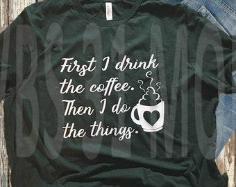 Coffee Lovers T-shirt