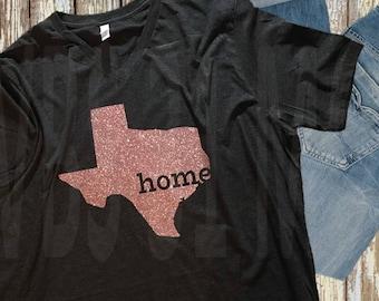 State Home Shirt - GLITTER!!!