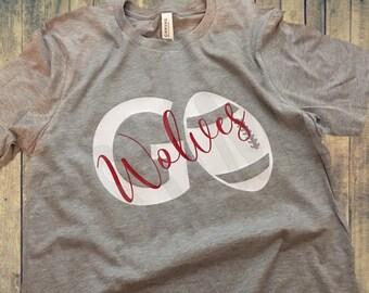 Go Football Team T-Shirt