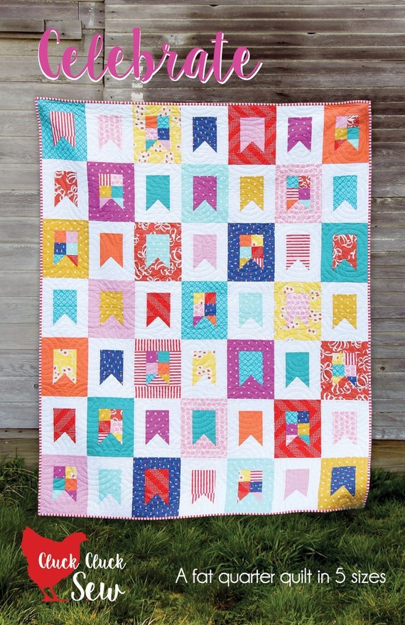 Quilt-Muster von Cluck Cluck Nähen moderne geometrische