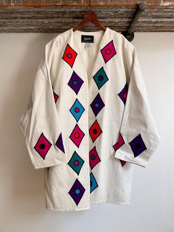 Vintage 1980s Cotton Twill Jacket
