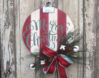 Christmas Door hanger, Merry Christmas Sign, Christmas door sign, Christmas door, Christmas door Decor, Christmas door Decoration