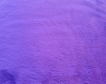 Solid Purple Cuddle Fabric Shannon Solid Cuddle Fabric Solid Color Purple Sold in 1 Yard Lengths Minky Solid Purple Fabric
