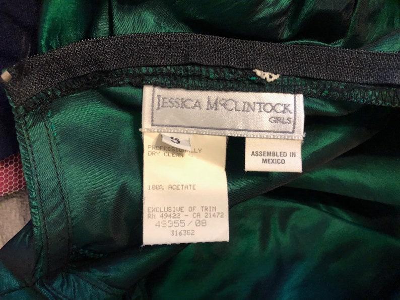 Vintage Girls Jessica McClintock Dressy Dress