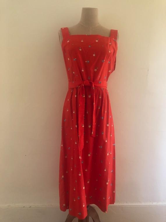 Vintage 1970's Malia Honolulu Dress