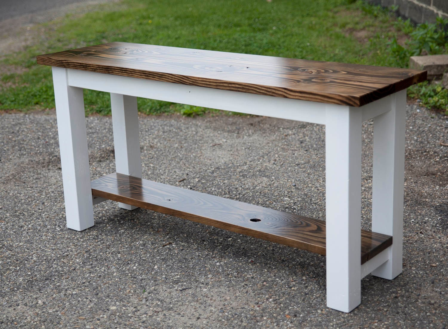 Solid Wood Sofa Table Entryway Table Buffet Table Built Etsy