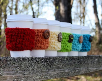 Cozy Cup pattern, crochet cozy,  crochet pattern, coffee sleeve, coffee sweater, crochet sleeve, coffee cozy, cup cozy, basket weave cozy