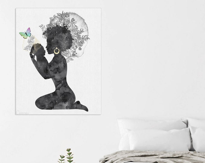 Black and White Art, Mom With Baby Print, Baby Room Décor, Motherhood Print, Lactation Consultant Office, New Mum Gift, Baby Shower