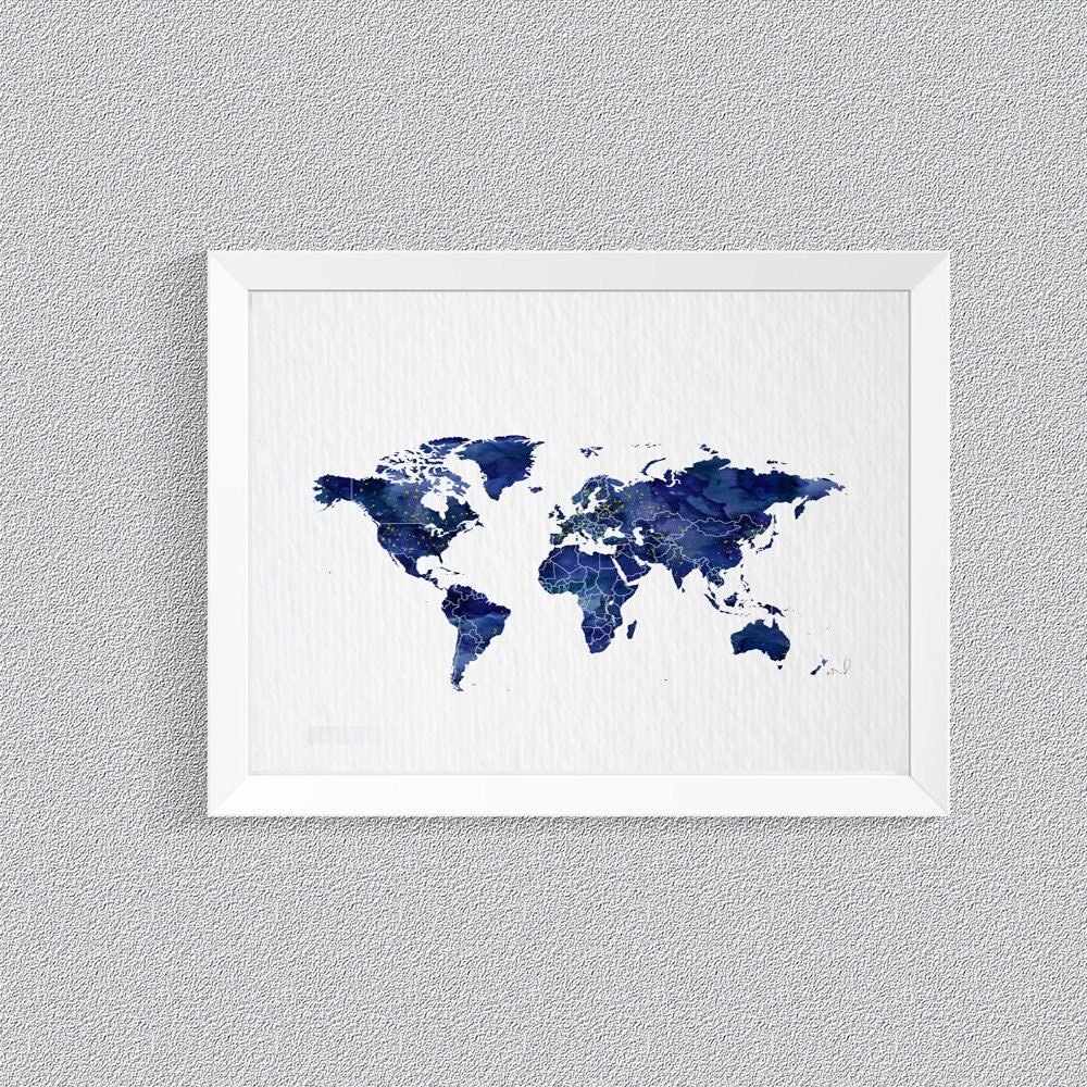 Map prints tourist attractions map in portland travel map galaxy print galaxy world map print scandinavian decor il fullxfull travel map galaxy print publicscrutiny Gallery