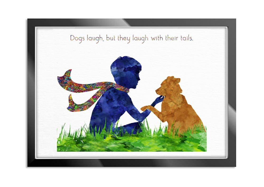 Dog Quotes, Dog Lover Gift Dog Wall Art Watercolor Art Print Gift Pet Dog  Lover Gift Pet Animal Dog Poster Dog Art Wall Hanging Animal Love