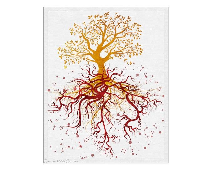 Blood Vessel Painting, Abstract Anatomy Art, Artery Wall  Art, Medical Art, Neurologist Office, Tree Of Life Art, Office Décor, Clinic Décor