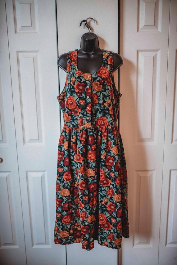 1990s Grunge || Vintage Dress || Autumn/Winter Flo