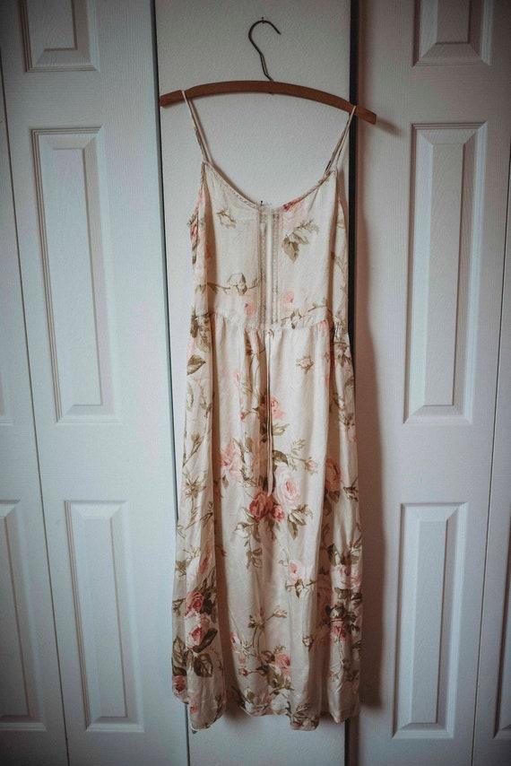 Vintage 80s Gunne Sax || Gunne Sax Slip Dress || R