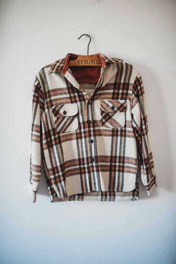 Vintage Flannel || Real Flannel Shirt || Vintage S