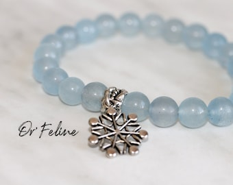 Pearl bracelet to match with your outfit   WINTERFELL   -Glass or natural stone beads. and a decorative bead.