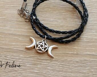 Destockage-Bracelet & Necklace 2 in 1 Wicca