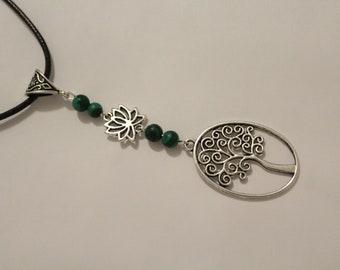 """Quiet as the tree"" necklace. Necklace Long Boho, Zen ↠ ↠."