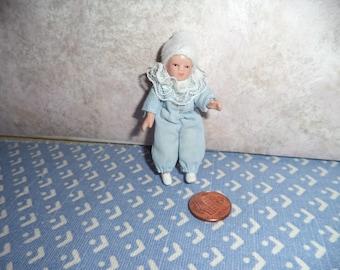 1:12 scale Dollhouse Miniature Baby Boy