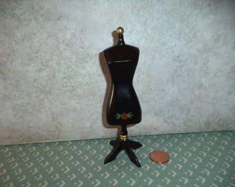 1:12 scale dollhouse miniature Dress Form