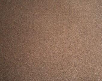 Glitter Vinyl Canvas Fabric - Copper