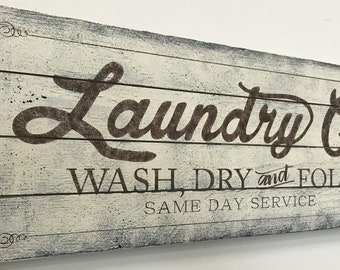 Laundry Sign Joanna Gaines Inspired Sign Wood Pallet Sign Rustic Laundry Sign Laundry Room Wall Decor
