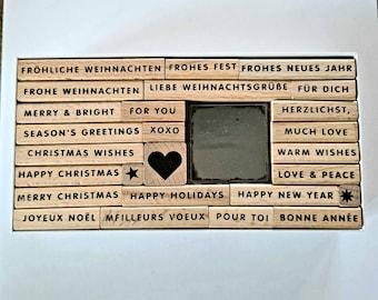 Stamp Set Christmas Christmas Post