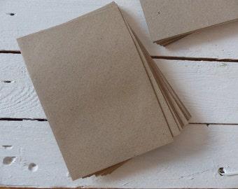 50 envelopes Brown kraft paper recycling C 6