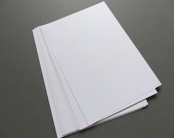 100 sheets kraft paper DIN A4 white 180g