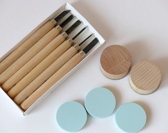 Stamp yourself make set with tool round
