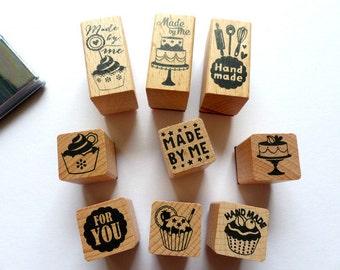 Timbre timbres faites par moi baking cupcakes la valeur