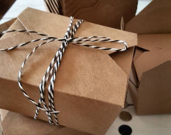 24 cardboard boxes foodboxes brown advent calendar
