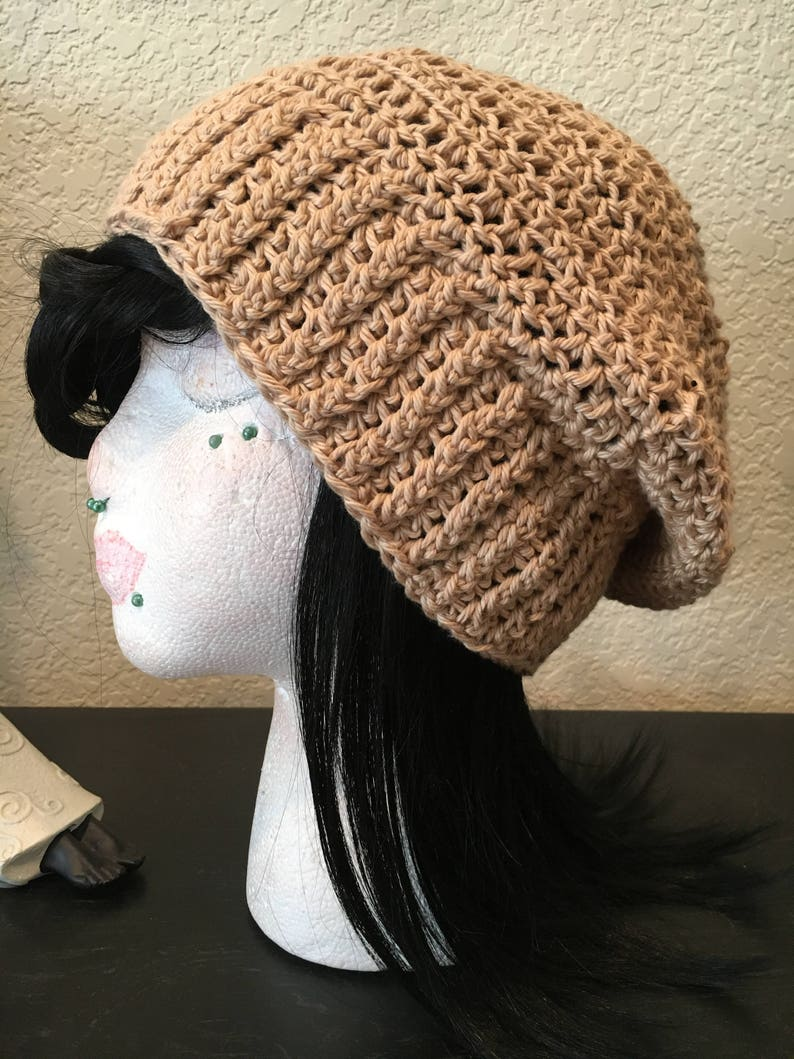 2d09ca73b06 Cream Mock Rib Cotton Beanie