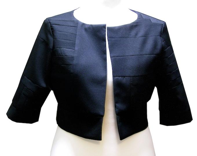 BLACK Box Jacket Kaschmir  Wool Jacket Patchwork Unique  size XLarge