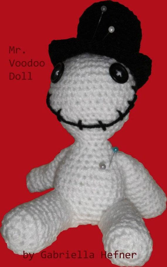 Amigurumi Halloween Voodoo Puppe Anleitung Etsy