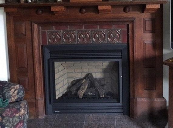 Dark Fireplace Surround