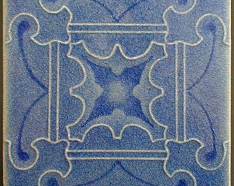 "Decorative glazed ceramic wall tile 6"" x 6"", fireplace art tile, kitchen backsplash tile, bathroom wall tile, art tiles, accent tiles"