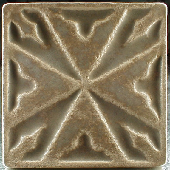 Celtic Tile 6 X 6 Wall Hanging Celtic Cross Ceramic Tile Etsy