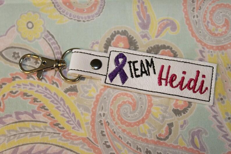 Team Heidi Key Fob image 0